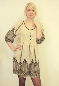 11) Платье Massimo Dutti (шелк) + серый цвет 189000 руб.