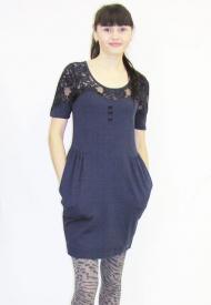 12) Платье Numpf (синий, черный) 169000 руб.