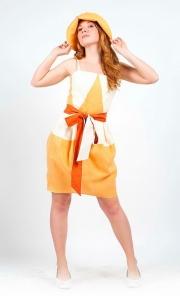 09) платье лён от 800 000