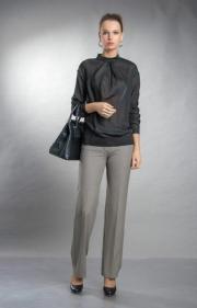01) брюки 3010-18, блуза 1652-1