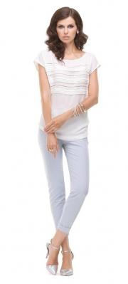 1) - 21066 блузка 42-54 + 3415 брюки 42-50