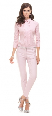 13) - 21079 блузка 42-50 + 3424 брюки 42-50