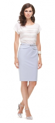 3) - 21066 блузка 42-54 + 4443 юбка 42-50