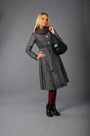 01-Модель М-1144, цвета - черный,  светло-серый,  темно-розовый, состав - 100% ПЭ, размер – 42-50