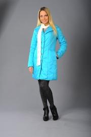 02-Модель М-1149, цвета – черный,  бирюза,  серо-сиреневый,  серо-голубой,  состав ткани - 100% ПЭ, утеплитель - синтепон 100, размер – 42-50