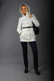 03-Модель М-1152, цвета - белый,  бледно-розовый,  лаванда,  розовый, состав ткани - 100% ПЭ, утеплитель - синтепон 100, размер – 42-50