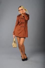 07-Модель М-1163, цвета - кирпичный, темно-коричневый,  черный, светло-коричневый, состав ткани - 82% ПЭ,  16% хлопок,  2%  эластан, размер – 42-50