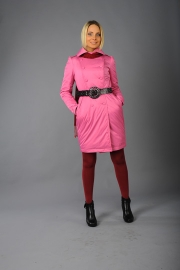 09-Модель М-1147, цвета - черный,  бордовый, светло-серый,  розовый, состав - 100% ПЭ, утеплитель – синтепон 60,  размер – 42-50