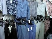 18-новые модели в сине-серой гамме из льна от Биргитты-жакет 469.000, юбка 389.000, брюки 399.000