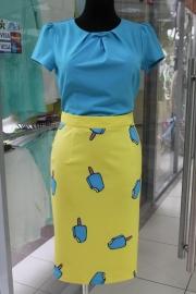 14) юбка +голубой, 350,000