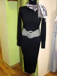 Платье трикотажное 95.000 (без пояса)