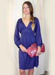 Платье Object  99.000 руб., клатч 49.000 руб., браслет 42.000 руб.