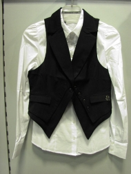 жилет 109.900, блуза 129.900