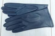 2) мод. 418р. Перчатки женские из кожи овчина без подкладки, размерный ряд 17, 19, 20