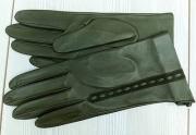 4) мод. 420р. Перчатки женские из кожи овчина без подкладки, размерный ряд 17, 19, 20, 22