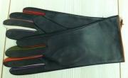 5) мод. 422. Перчатки женские из кожи овчина на подкладке из трикотажного полотна, размерный ряд 17, 18, 19, 20, 22