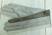 6) мод. 424р. Перчатки женские из кожи овчина на чистошерстяной подкладке, размерный ряд 17, 19, 20
