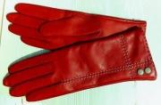 9) мод. 428р. Перчатки женские из кожи овчина на чистошерстяной подкладке, размерный ряд  17, 19, 20