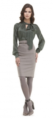 02) Green Jade блузка 21044, юбка 4410