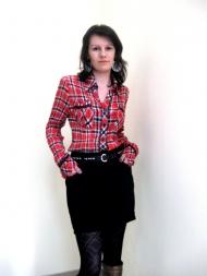 Блуза Robex, 99.000, юбка Stradivarius 65.000