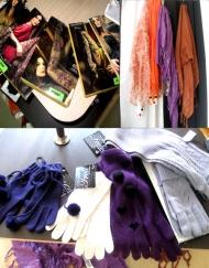 Колготки, платки, пeрчатки, шарфы
