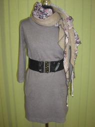 1. платье 105.000 руб., шарф 30.000 руб., пояс 18.000 руб.