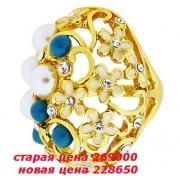 09)  кольцо с кристаллами Сваровски