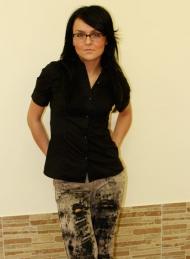 13) рубашка Zara 79 000 руб., джинсы Bershka 139 000 руб.