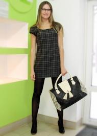 11) Платье Joos 139.000 руб., сумка Gas 129.000 руб.