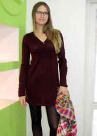 """12) Платье Free Soul (Италия, шерсть мерино) 149.000 руб., платок-""""арофатка"""" Blend 79.000 руб."""