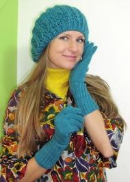 21) Комплект (берет+перчатки) 89.000 руб.