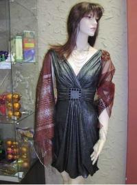 Платье 197510= Шарф 45100=