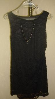 11) 138000 руб. гипюровое платье + бусы