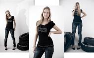 1) джинсы Bershka 139000 руб., майка Stradivarius 69000 руб.