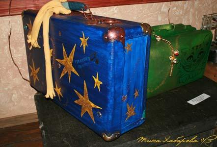 Этот чемодан сейчас находится на выставке в моем любимом городе Нежном...