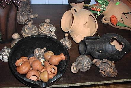 Вазочки. Белорусская керамика