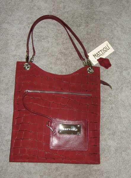 сумка маттиоли с чернокоричневая какой одеждой носить