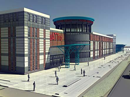 Проект гипермаркета в Гродно