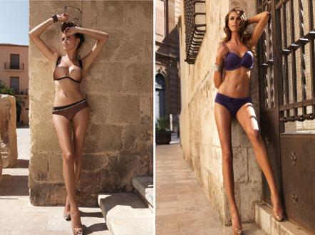 модели с длинными ногами и без трусов