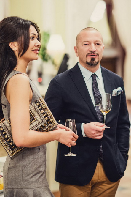 Вадим Прокопьев (ресторатор) со спутницей