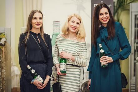 Дизайнеры Юлия Гилевич (бренд FUR GARDEN), Мария Дубинина, Ирина Бойтик