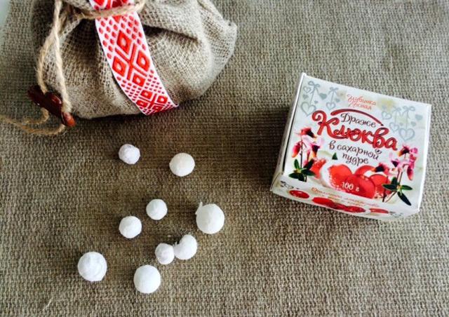Что привезти из Беларуси, белоруссккие сувениры, клюква в сахаре