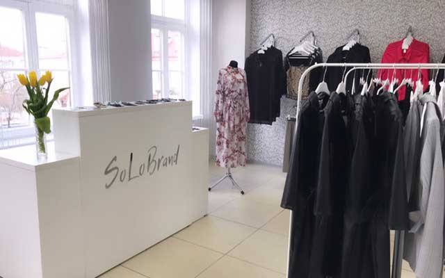 новый магазин одежды SoloBrand в Гродно