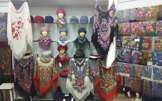 Павловопосадские платки купить