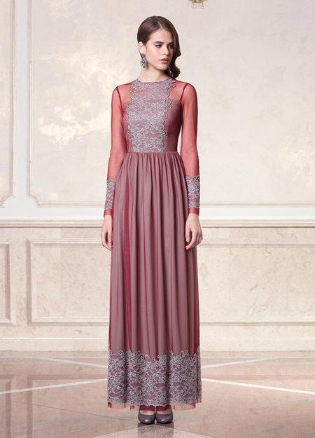 Вечернее платье бурвин
